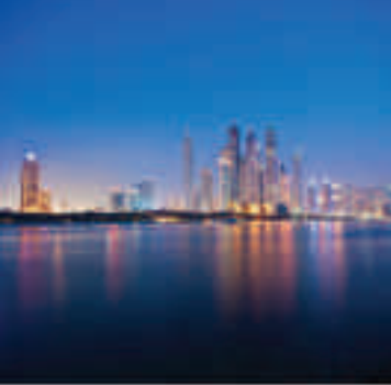 Coastal landscape engineering of Dubai